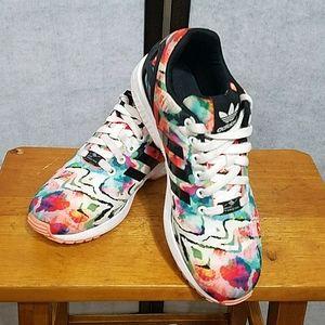 Adidas Torsion ZX Flux watercolor sneaker 8.5